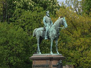 Equestrian memorial for Louis IV, Grand Duke of Hesse