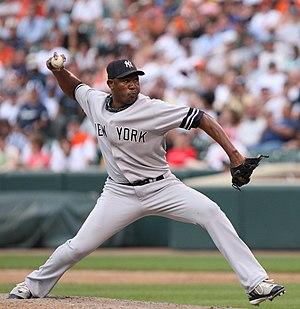 Luis Vizcaíno - Vizcaíno with the New York Yankees