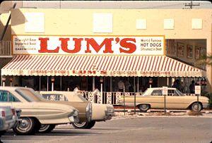 Caesars World - A Lum's restaurant in Fort Lauderdale, 1966