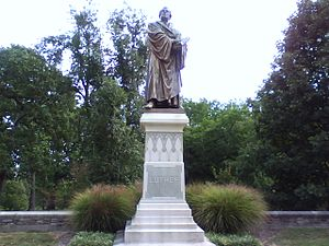 Concordia Seminary - Luther Statue