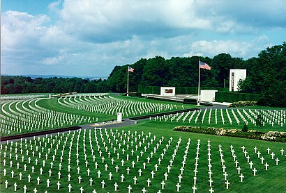 How to get to Luxembourg American Cemetery And Memorial with public transit - About the place