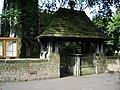 Lychgate, St James Church, Westhead. - geograph.org.uk - 536513.jpg