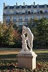 Méditation, statue de Tony Noël, jardin du Ranelagh, Paris 16e 2.jpg