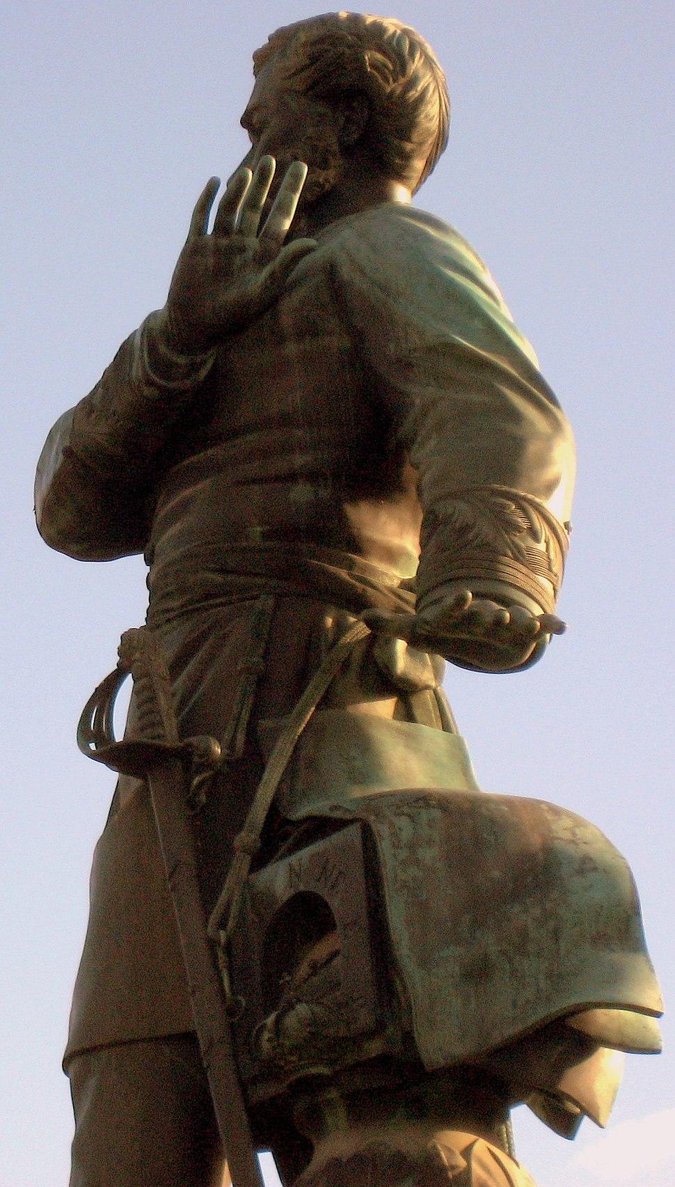 Méndez Núñez estatua en Santiago