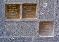 Mühlenstraße 25, Celle, Stolperstein Dr. Julius von der Wall, Flucht 1939 Holland, deportiert, ermordet in Auschwitz, Else geb. Lang, Paula Strupp, Theresienstadt, I.jpg