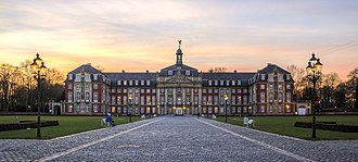 University of Münster - The Schloss is the administrative centre and the symbol of the university