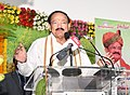 M. Venkaiah Naidu addressing the gathering after inaugurating a free Medical Camp jointly organized by the Asian Institute of Gastroenterology and Swarna Bharat Trust and presenting 'Rythu Nestham' awards, in Hyderabad (1).JPG