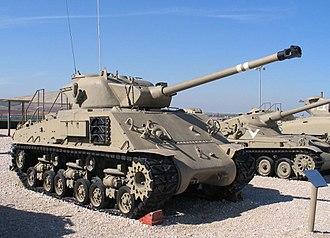 Super Sherman - Sherman M-50 Cummins.
