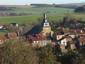 Le quartier de l'église Saint-Nicolas