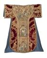 MCC-39546 Rode dalmatiek met aanbidding der koningen, besnijdenis en opdracht in de tempel en heiligen (1a).tif