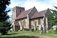 MK StMaryschurch WoughtonontheGreen01.JPG