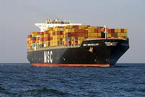 MSC Bruxelles - Image: MSC Bruxelles (ship, 2005) 002