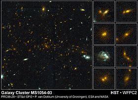 MS 1054-03 & merging galaxies.jpg