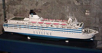 MS Estonia - Image: MS Estonia model