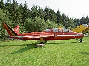 MT-31, Fouga CM-170R Magister CN 288.JPG