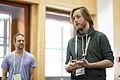 Maarten Zeinstra (Kennisland) at the GLAM WIKI UK 2013 Conference - Flickr - Sebastiaan ter Burg.jpg