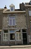 Huis met gevel in de trant der zgn. Maaslandse renaissance.