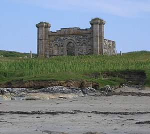 Coll - The burial place of the MacLean leaders of Coll