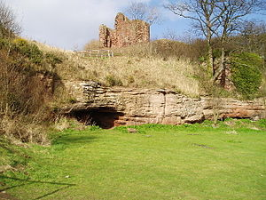 Earl of Fife - Macduff's Castle, seat of the Earls of Fife