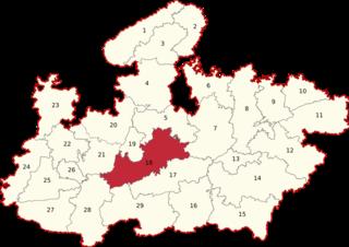 Vidisha (Lok Sabha constituency) Lok Sabha Constituency in Madhya Pradesh, India