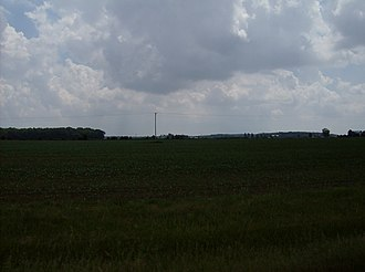 Madison Township, Hancock County, Ohio - Madison Township contains wide farmlands interspersed with small woods.