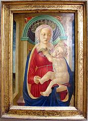 La Vierge et l'Enfant au chardonneret