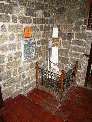 Emilio Jacinto - Grave (Santa Maria Magdalena Parish Church of Magdalena -Magdalena, Laguna)