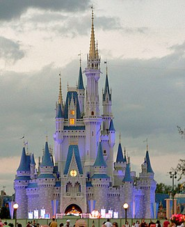 Het Cinderella Castle in het Magic Kingdom