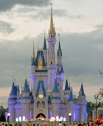 Cinderella Castle at the Magic Kingdom, Walt D...