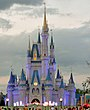 Walt Disney World Resorteko zenizientaren gaztelua.