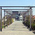 Magny-les-Hameaux - Hôtel de Ville vu du jardin Nelson Mandela.jpg