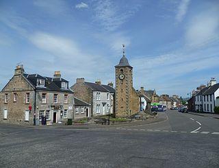 Clackmannan town