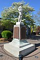 Main and railroad, World War memorial in High Point.jpg
