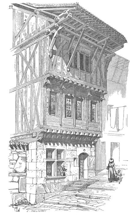 Dictionnaire raisonn de l architecture fran aise du xie for La maison du cabriolet