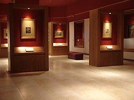 کتابخانه و موزه ملک( نمایی از موزه )