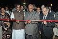 Mallikarjun Kharge inaugurating the 'Skilling India' Theme pavilion, at the India International Trade Fair, Pragati Maidan, in New Delhi. The Minister of State for Labour & Employment.jpg