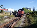 Malmo Limnhamn railway tourist train2.JPG
