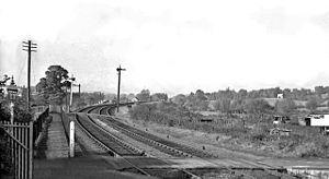 Tewkesbury and Malvern Railway - Image: Malvern Railway 3 1714729 38f 74939