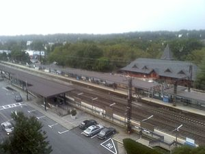 Mamaroneck (village), New York - Mamaroneck train station