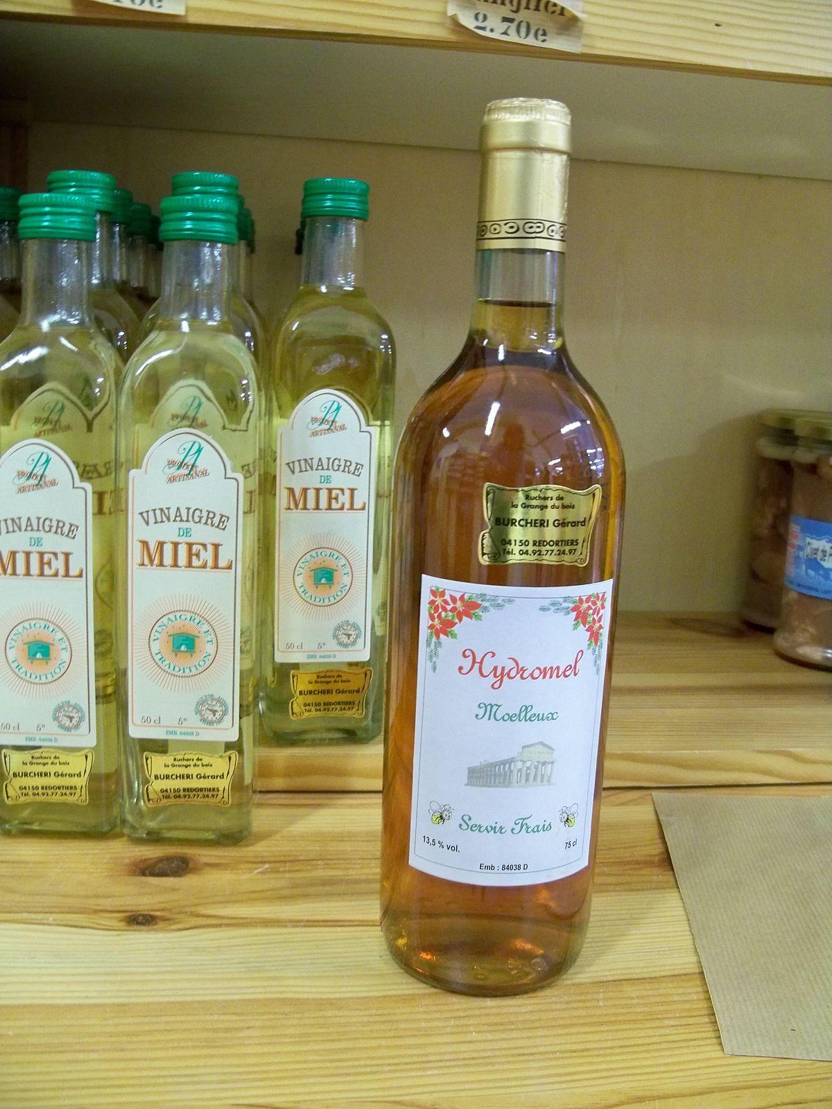 Hydromel wikip dia for Alcool de verveine maison
