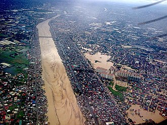 Metro Manila - The flood brought by Typhoon Ketsana (Tropical Storm Ondoy) in 2009 caused 484 deaths in Metro Manila alone.