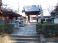 Mangyō-ji temple gate, Nodera, Niiza (真言宗智山派 八幡山満行寺 新座市野寺).png