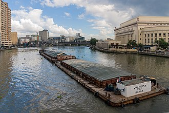 Pasig River - Image: Manila Philippines The old Post Office Building 02