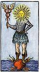 Mann mit Sonnenkopf auf Sonne stehend.jpg