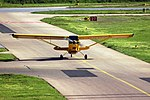 Mannheim City Airport - American Champion 7GCAA - D-ELKO - 2016-05-08 17-55-43.JPG