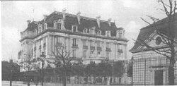 Aufnahme der Villa Lanz im Jahr 1917