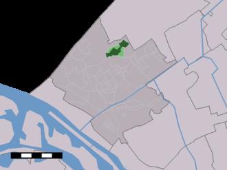 Poeldijk - Image: Map NL Westland Poeldijk