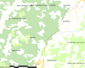 Map commune FR insee code 24567.png