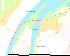 Map commune FR insee code 26008.png