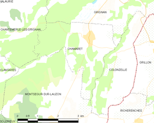 Map commune FR insee code 26070.png
